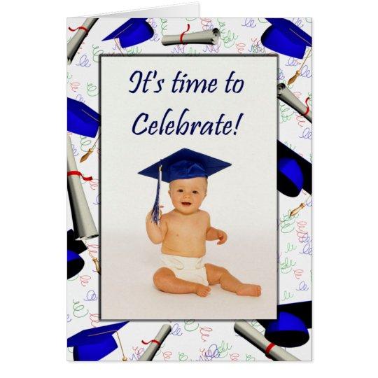 Tarjeta Tarjeta/invitación de la graduación