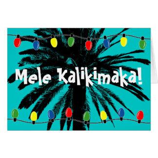 Tarjeta ¡Tarjetas de Navidad hawaianas el | Mele