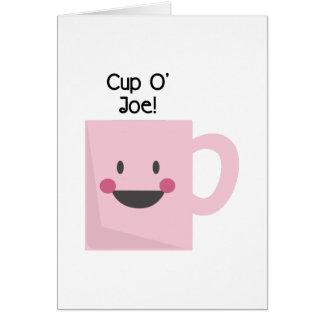 Tarjeta ¡Taza O Joe!