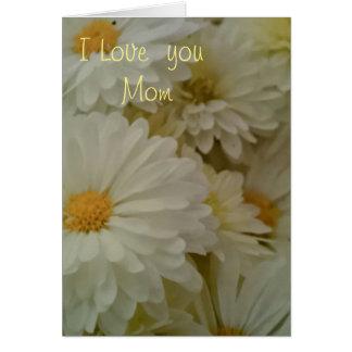 Tarjeta Te amo mamá