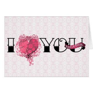 Tarjeta Te amo porque…