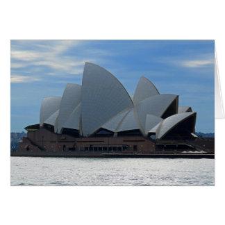 Tarjeta Teatro de la ópera de Sydney