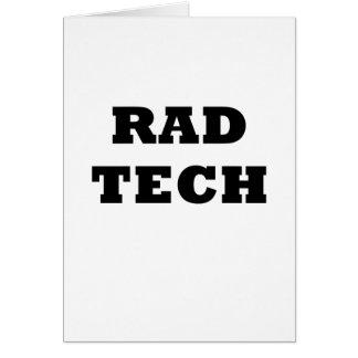 Tarjeta Tecnología del Rad