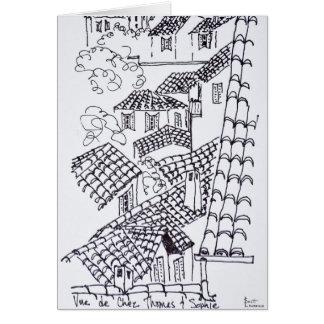 Tarjeta Tejados de Marsella, Francia