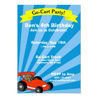 Tarjeta Tema de la fiesta de cumpleaños del Ir-Carro
