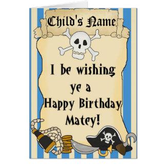 Tarjeta temática 2 del feliz cumpleaños del niño d