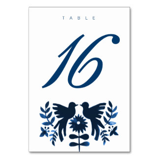 Tarjeta temática de la tabla de Otomi del mexicano
