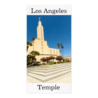 Tarjeta Templo de Los Ángeles LDS