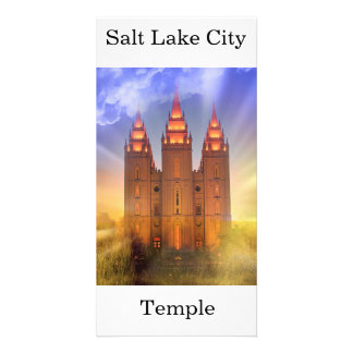 Tarjeta Templo de Salt Lake City LDS