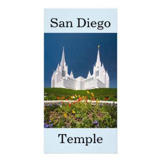 Tarjeta Templo de San Diego LDS
