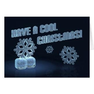 Tarjeta ¡Tenga navidad fresco!