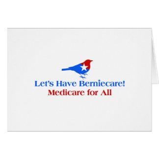Tarjeta Tengamos Berniecare - Seguro de enfermedad para