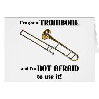 Tarjeta Tengo un Trombone