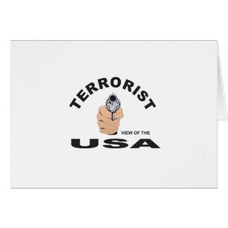 Tarjeta terrorista en los E.E.U.U.
