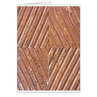 Tarjeta Textura de madera