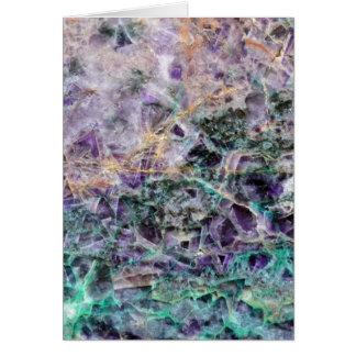 Tarjeta textura de piedra amethyst