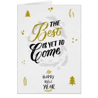 Tarjeta The Best is yet to Come
