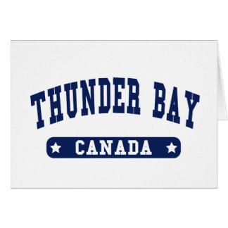 Tarjeta Thunder Bay