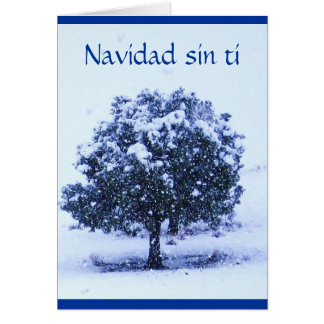 Tarjeta Ti del pecado de Navidad - ámele Srta. You