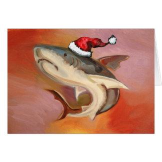 Tarjeta Tiburón de Santa