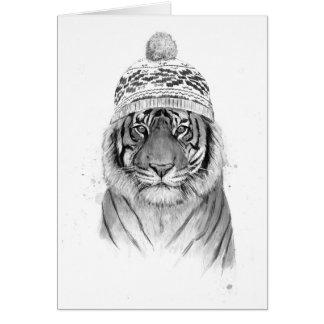 Tarjeta Tigre siberiano
