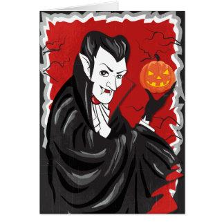 Tarjeta Tipo de sangre del vampiro