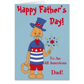 Tarjeta ¡Todo el papá americano!