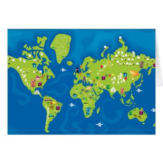 Tarjeta Todos en todo el mundo