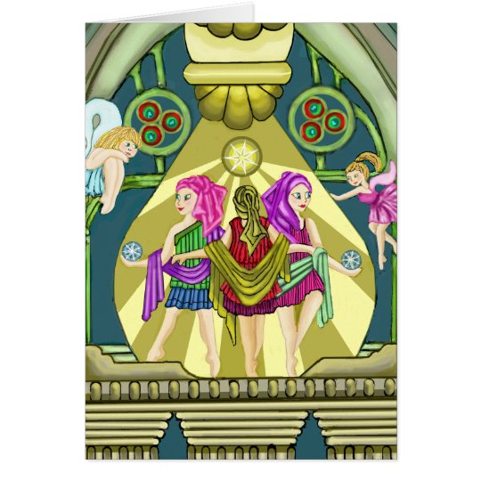 Tarjeta Tolerancias de hadas de la mitología