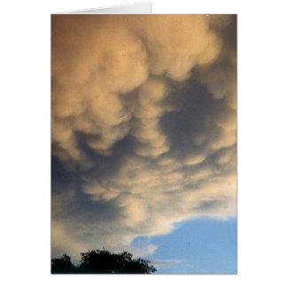 Tarjeta Tormenta de Herald de las nubes enojadas