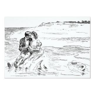 Tarjeta Torneado de la marea - boda, boda, romance