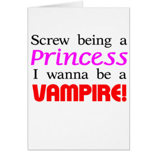 Tarjeta Tornillo que es un vampiro