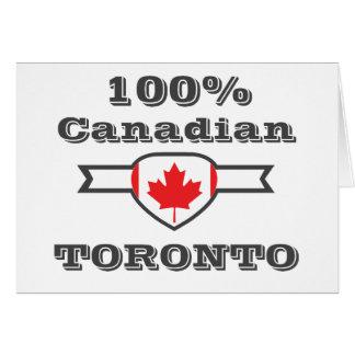 Tarjeta Toronto 100%
