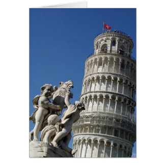 Tarjeta Torre inclinada de Pisa