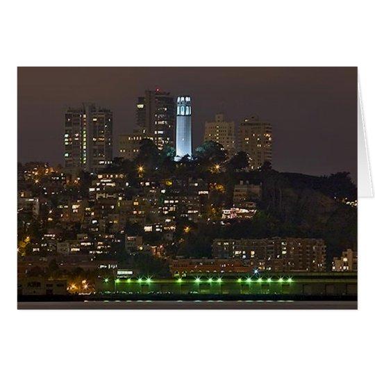 Tarjeta Torre San Francisco de Coit
