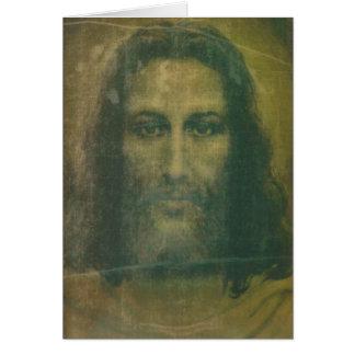 Tarjeta total de la cara santa