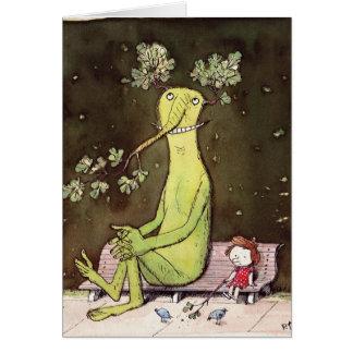 Tarjeta Totoro y Alicia (es una historia larga)