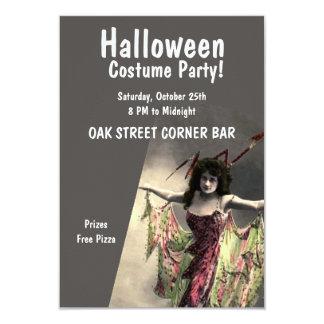 Tarjeta Traje del perno del aligeramiento de Halloween