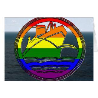 Tarjeta Travesía gay 1