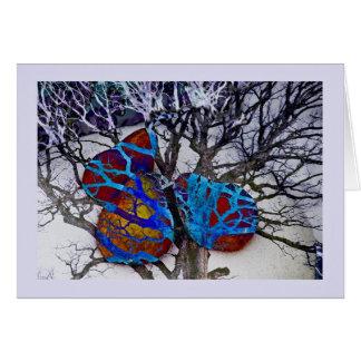 Tarjeta Tres peras en un árbol de arce