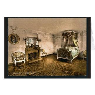 Tarjeta Trianon pequeno, cámara de Marie Antonieta, Versai