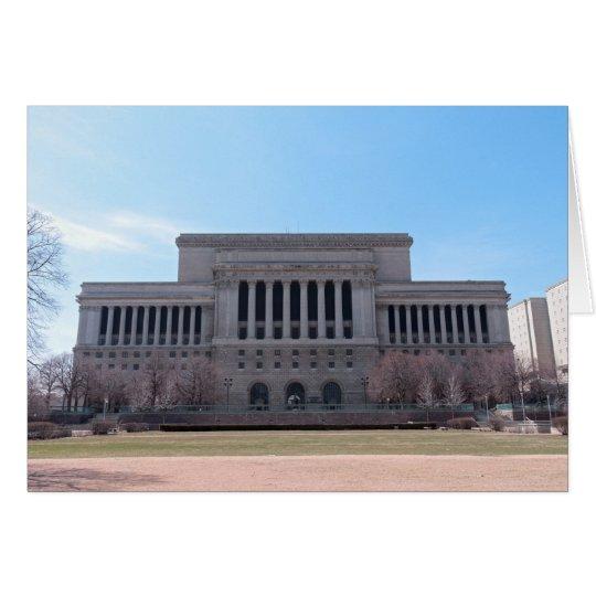 Tarjeta Tribunal del condado de Milwaukee