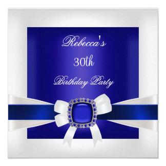 Tarjeta Trigésima plata de la fiesta de cumpleaños del