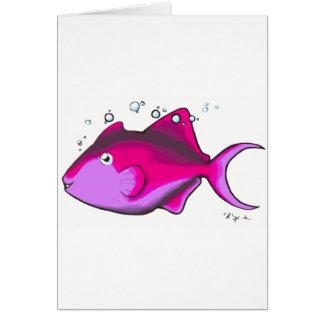 Tarjeta ¡Triggerfish!