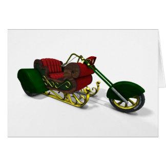 Tarjeta Trike de Papá Noel