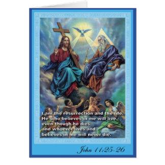 Tarjeta Trinidad santa