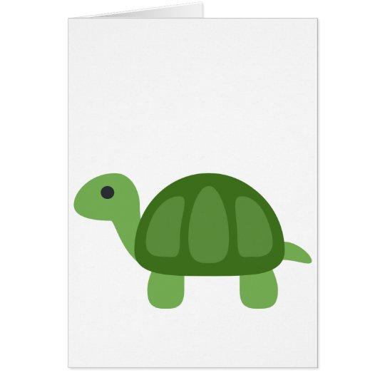 Tarjeta Turtle Emoji