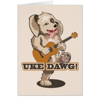Tarjeta ¡Uke Dawg!