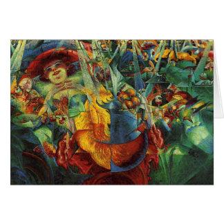 Tarjeta Umberto Boccioni - risa