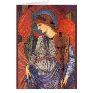 Tarjeta Un ángel musical